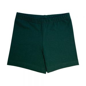 Bottle Green School Bike Shorts
