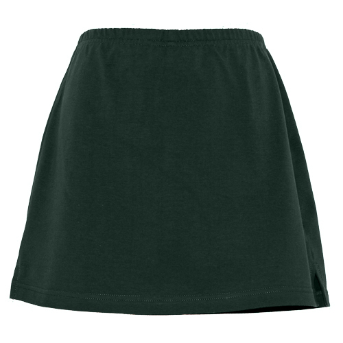 Bottle Green Girls School Skorts