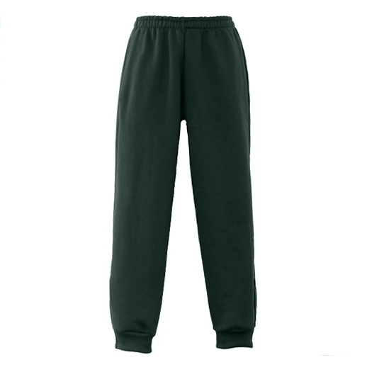 Bottle Green School Track Pants
