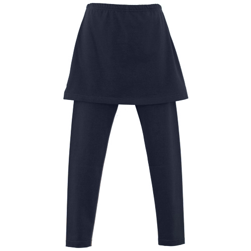 Navy Blue Girls School Skeggings