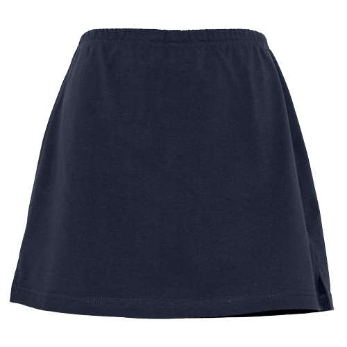 Navy Blue Girls School Skorts