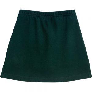 Bottle Green School Skirts