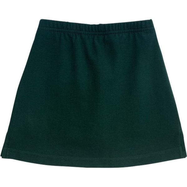 Bottle Green School Skirts