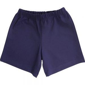Navy Blue School Shorts